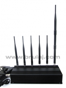 Aparat bruiaj profesional 6 antene - telefoane + sisteme de urmarire