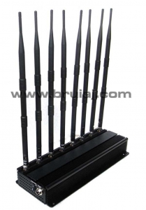 Aparat de bruiere 8 antene pentru telefoane - GPS - camere wireless - microfoane